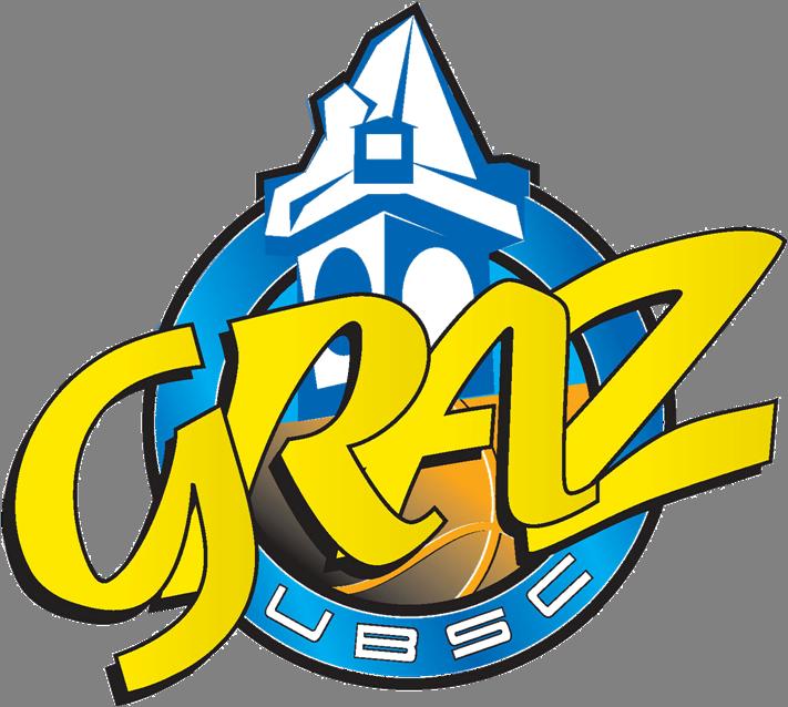 Bild zeigt das Logo des steirischen Bundesliga Basketball Vereins UBSC Graz.